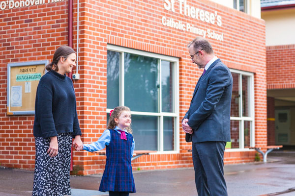 St Therese Catholic Primary School Denistone visit our school